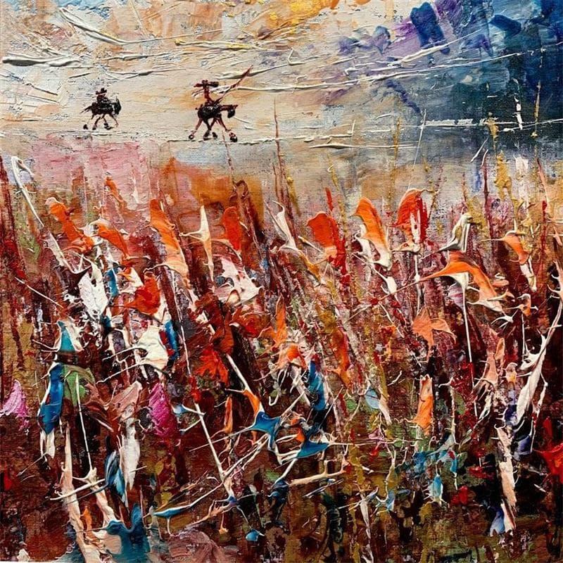 Don Quixote on the Line