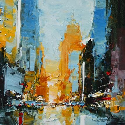 Daniel Castan Garage district 25 x 25 cm