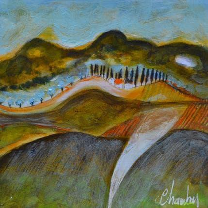 Michel Chambon Vers eygalières 13 x 13 cm