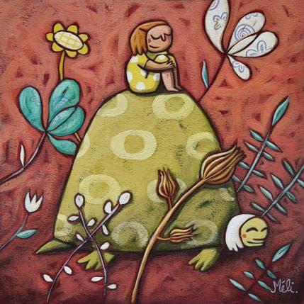 Mélina Catoni Le chemin 19 x 19 cm