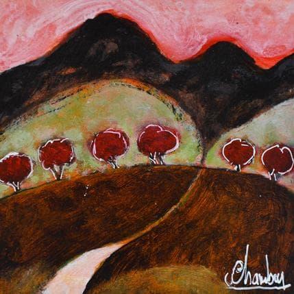 Michel Chambon Chemini de mille 13 x 13 cm