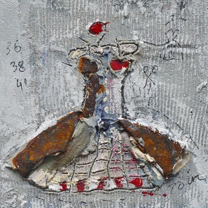 Isabelle De Joantho Note de bal 13 x 13 cm