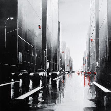 Maurizio Galloro La ligne blanche 19 x 19 cm