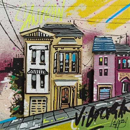 Pappay Victorian Houses 13 x 13 cm
