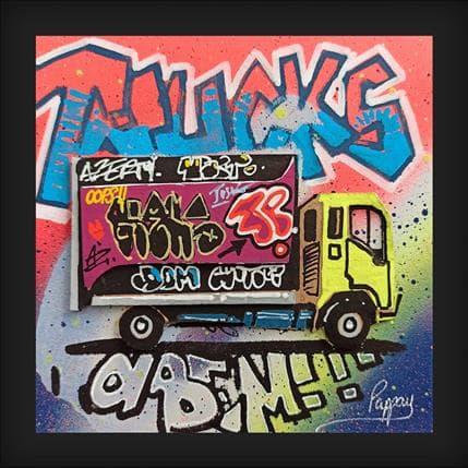 Pappay Graff Truck 13 x 13 cm