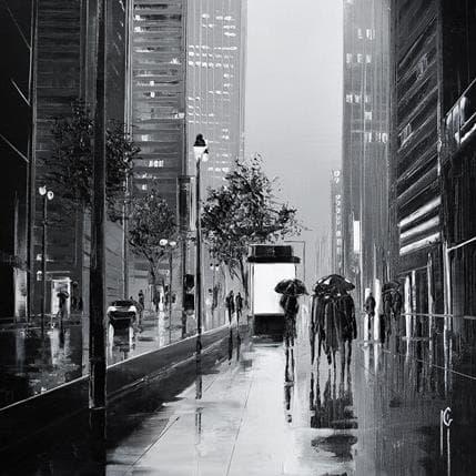 Maurizio Galloro Ambiance pluvieuse 19 x 19 cm