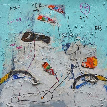 Isabelle De Joantho Vive la vie 36 x 36 cm