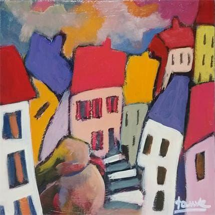 Fauve Village 5 13 x 13 cm