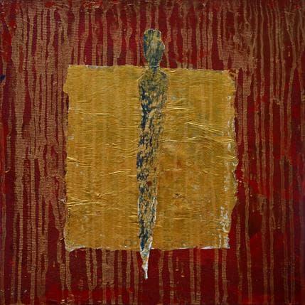 Sophie Rocco Pluie d'or 36 x 36 cm