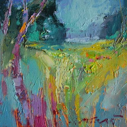 Ivica Petras Yellow meddows 13 x 13 cm