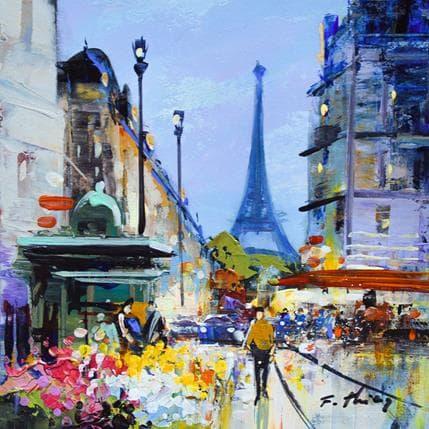 Frédéric Thiéry Moi Suzanne B, fleuriste à Paris 19 x 19 cm