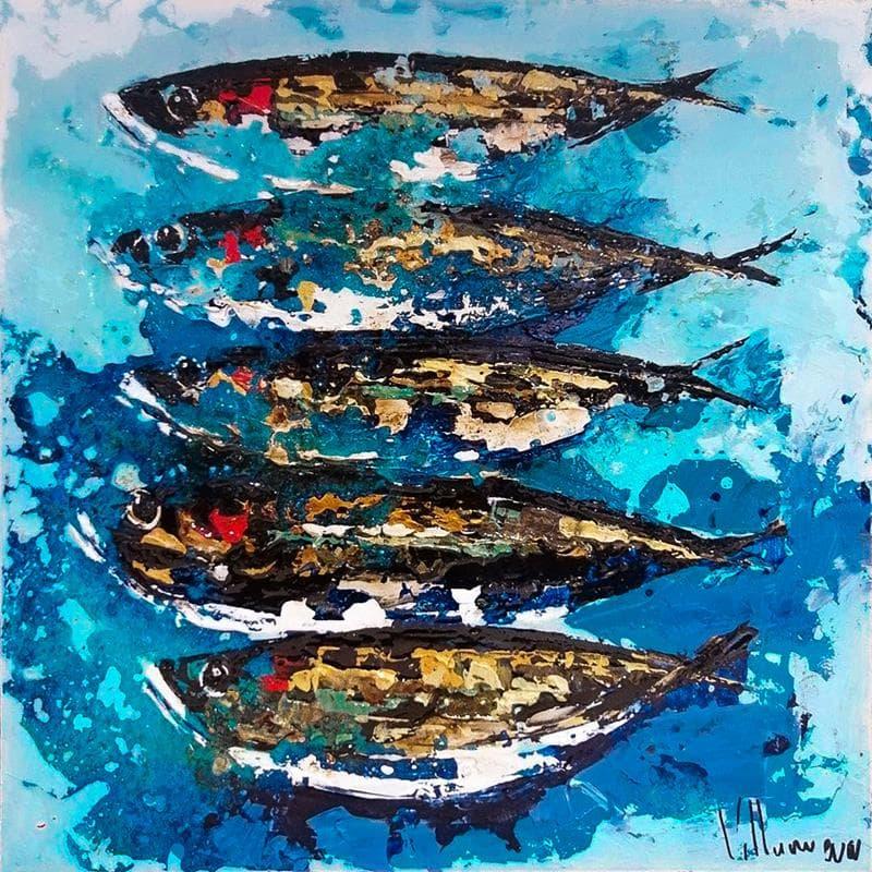Sardines navegando
