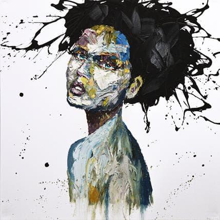 Agusil Anna Black 100 x 100 cm