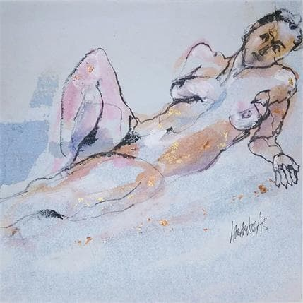 Corinne Labarussias Esquisse 17M 25 x 25 cm