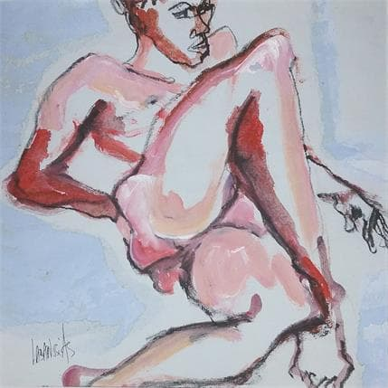 Corinne Labarussias Esquisse 19M 25 x 25 cm