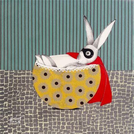 Ann R EN ATTENDANT DE SAUVER LE MONDE TOU2 25 x 25 cm