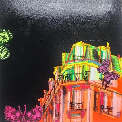 Olivier Anicet Tryptique Escapades nocturnes 3 25 x 25 cm