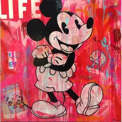 Kikayou Mickey Life 80 x 80 cm