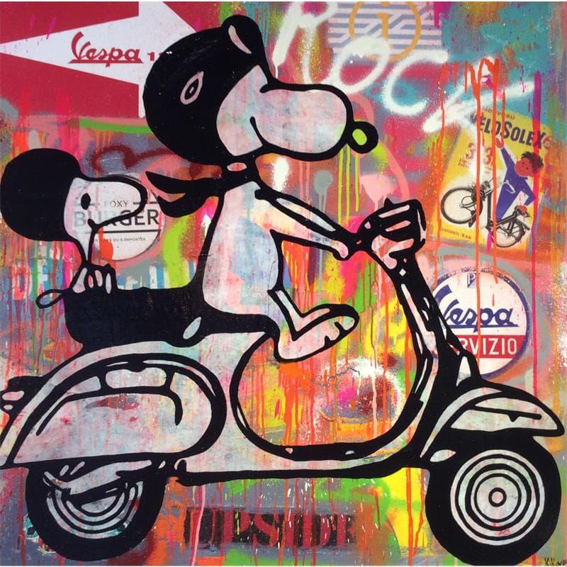 Snoopy Vespa
