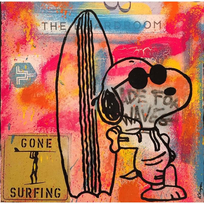 Snoopy surf 2
