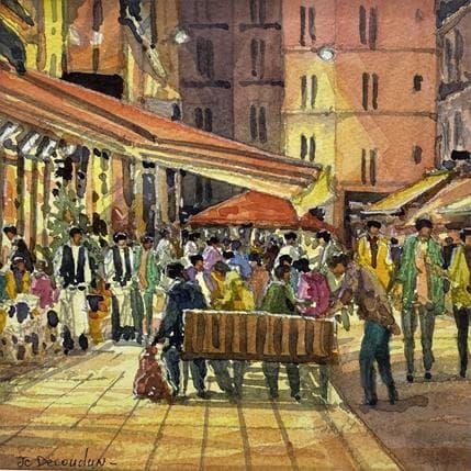 Jean-Charles Decoudun Paris St Germain des Prés 19 x 19 cm