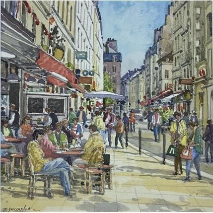 Jean-Charles Decoudun Paris St Germain des Prés 25 x 25 cm