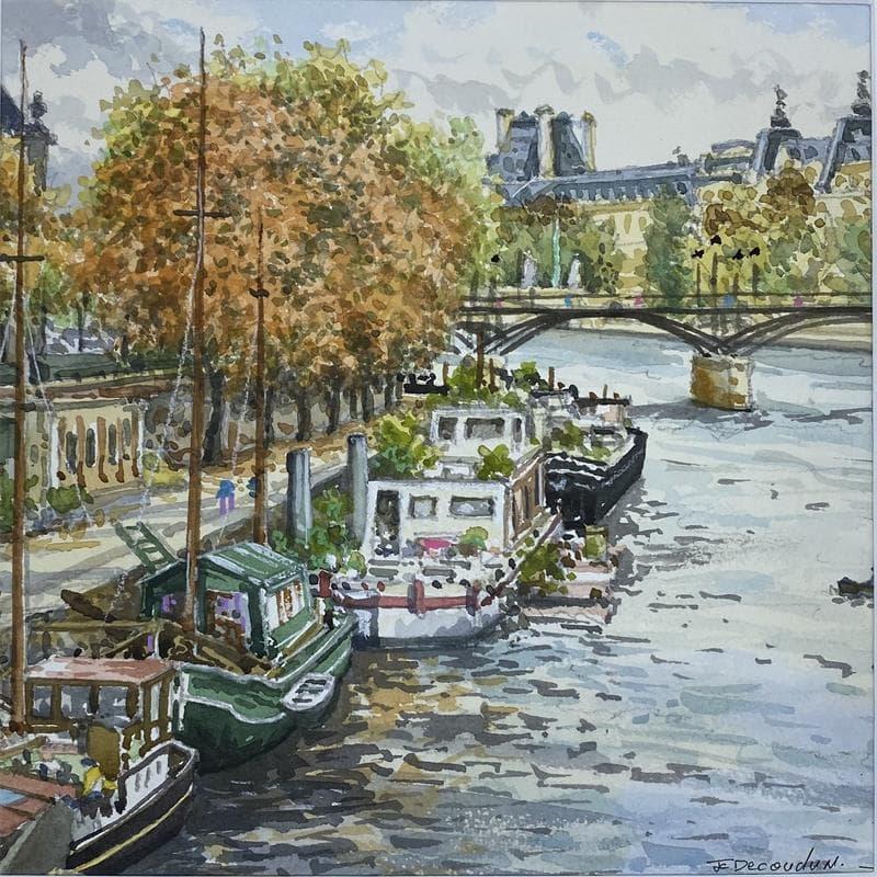 Paris la passerelle des arts