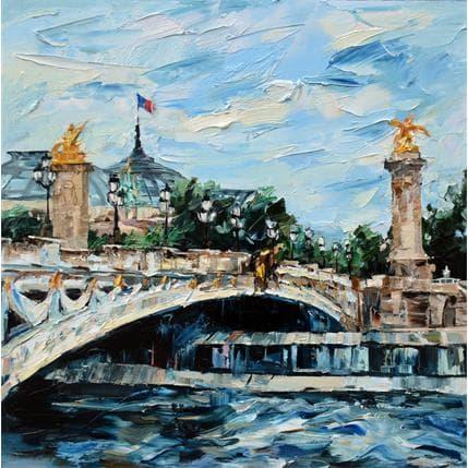 Olga NOVOKHATSKA Pont Alexandre III 80 x 80 cm