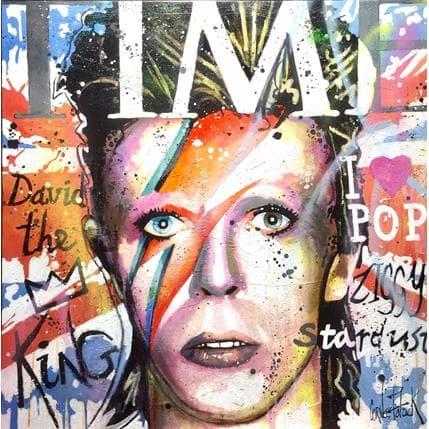 Patrick Cornée David Bowie, United Kingdom 80 x 80 cm