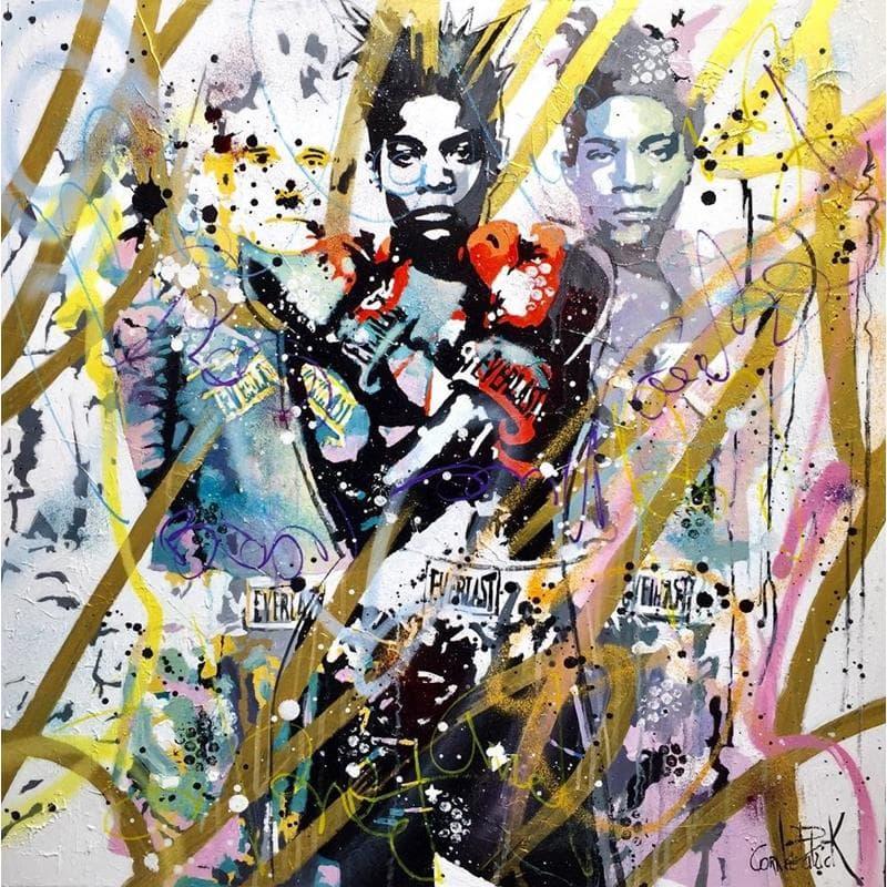 Basquiat and Warhol, street art and pop art melody