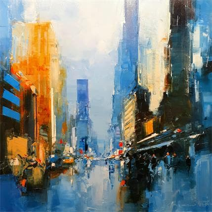 Castan Daniel Times Square Morning 80 x 80 cm