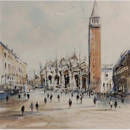 Richard Poumelin Place St Marc 36 x 36 cm