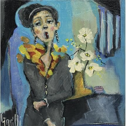 Nicole Garilli Pensive 13 x 13 cm