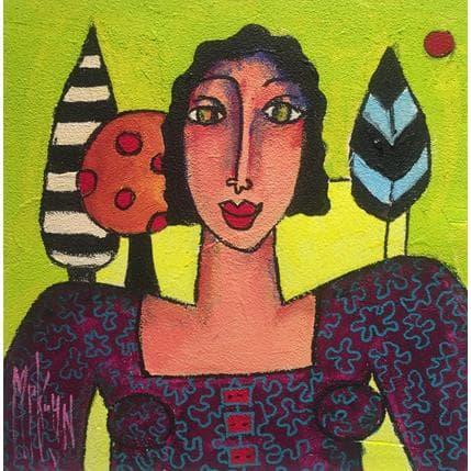 Marie-Pierre Kuhn Balade en forêt 25 x 25 cm