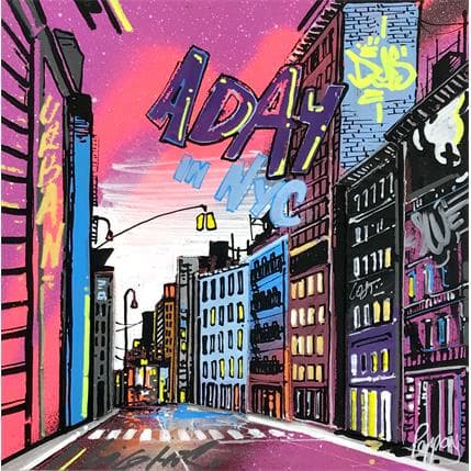 Pappay A day in NYC 19 x 19 cm