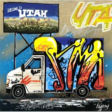 Pappay Welcome to utah 19 x 19 cm