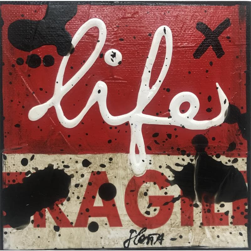 Fragile life (rouge