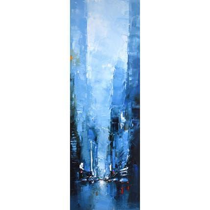 Daniel Castan Blue Manhattan 40 x 120 cm