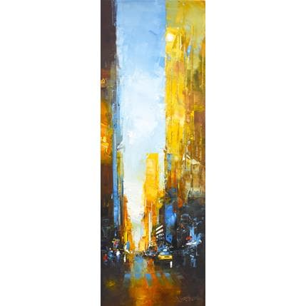 Daniel Castan Taxi Broadway 120 x 40 cm