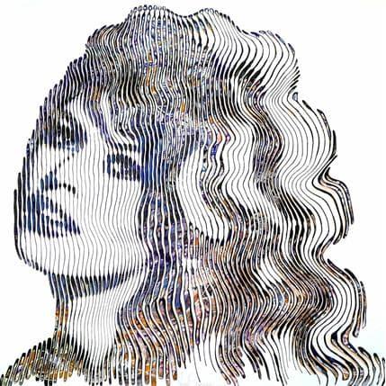Virginie Schroeder L'inoubliable Brigitte Bardot 100 x 100 cm