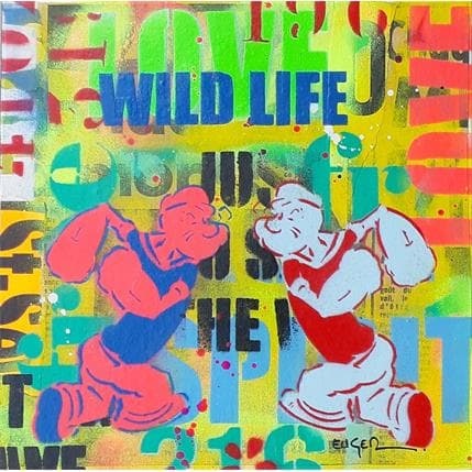 Philippe Euger Wild life 25 x 25 cm