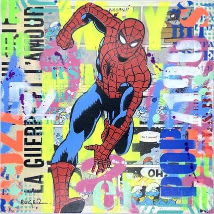 Philippe Euger Spiderman 25 x 25 cm