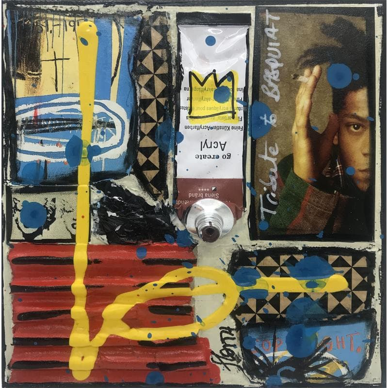 Tribute to Basquiat (noir)