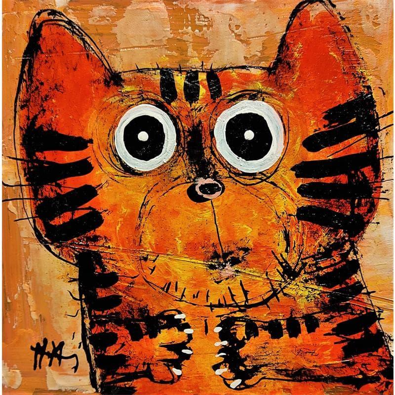 Chat tigré orange II
