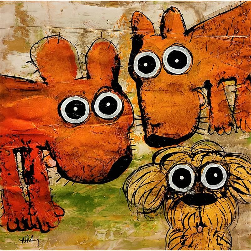 Trio de chiens