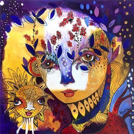Laure Ketfa Nous sommes le vivant 25 x 25 cm