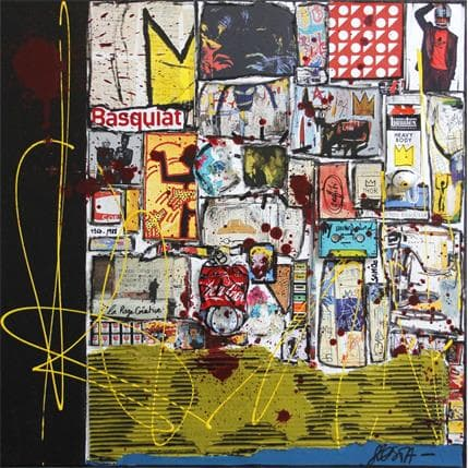 Sophie Costa Basquiat and Co 80 x 80 cm