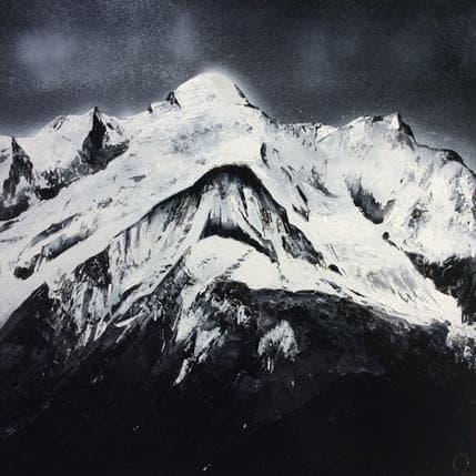 Julien Rey Mont blanc 50 x 50 cm