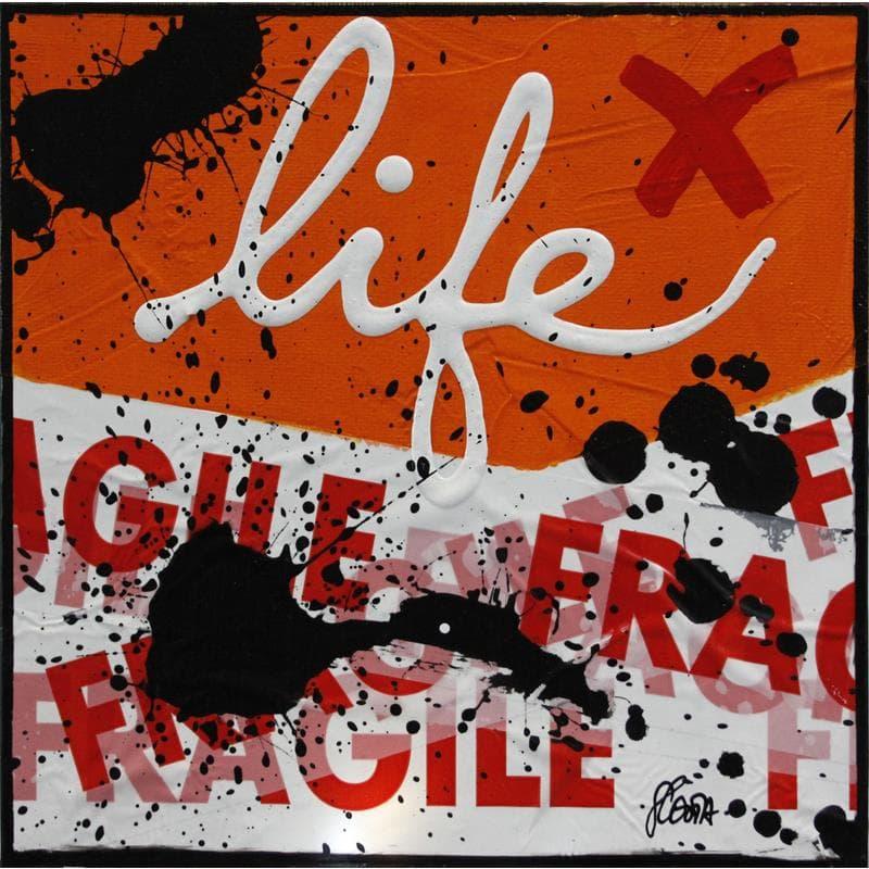 Fragile life (orange)