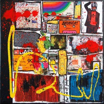 Sophie Costa Basquiat the King 50 x 50 cm